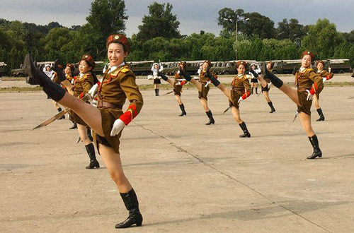 North Korean Female Soldiers
